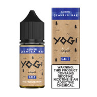 Yogi Salt Nic - Blueberry Granola Bar 30mL 35mg