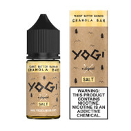 Yogi Salt Nic - Peanut Butter Banana Granola Bar 30mL 35mg