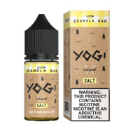 Yogi Salt Nic - Lemon Granola Bar 30mL 35mg