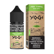 Yogi Farms Salt Nic - Green Apple 30mL 36mg