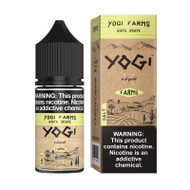 Yogi Farms Salt Nic - White Grape 30mL 36mg