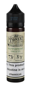 Peppermint Sweets eLiquid 60ml bottle