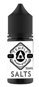 TEMPLE SALTS Unflavored 36MG 30ML bottle