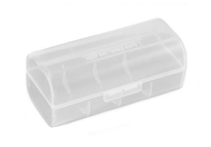 Clear Battery Case for 1 x 26650