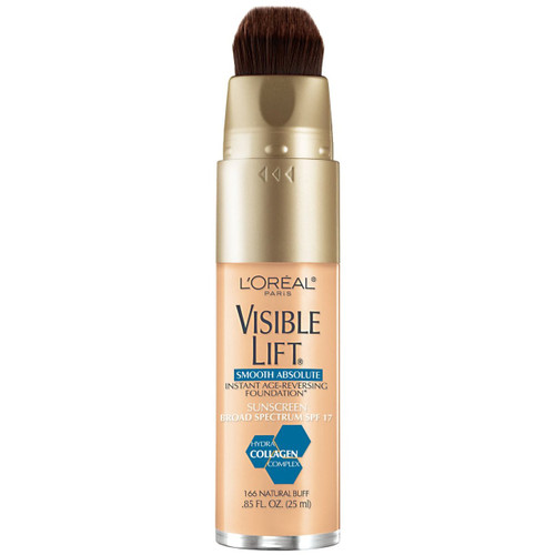 L'Oreal Visible Lift Smooth Absolute Foundation #166 Natural Buff