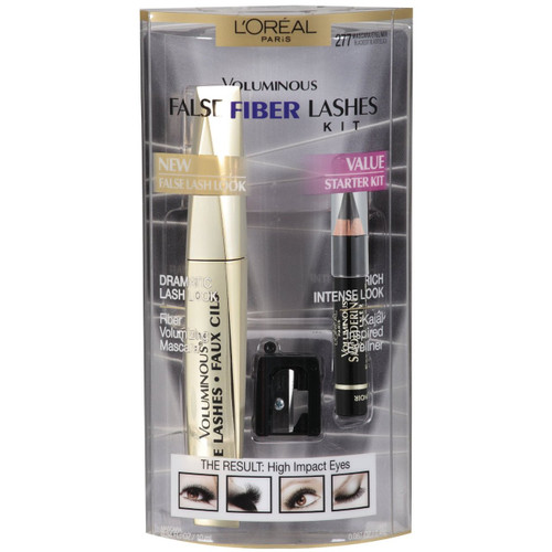 L'Oreal Paris Voluminous False Fiber Mascara Lash Kit