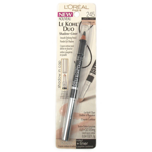 L'Oreal Le Kohl Duo Shadow & Liner Charcoal / Honey 245