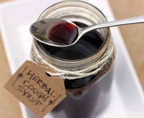 Elderberry cough syrup