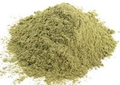 Very nice green color. Certified Organic Powder is brown.