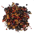 Christmas Spice Herbal Tea - This naturally caffeine-free tea is a scented blend of citrus fruit, elderberries, hibiscus blossoms and warming spices. This herbal tea is both comforting and soothing. With the cold and chill of winter on its way, the time has come to stock up on warm and cozy things like blankets, candles, and Maus' Christmas Spice Herbal Tea