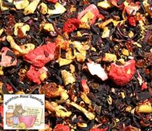 Hibiscus Strawberry Herbal Tea Blended