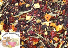 Hibiscus Orange Herbal Tea Blened