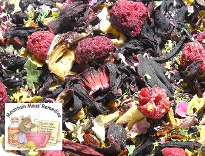 Raspberry Rose Hibiscus Herbal Tea Herbal Teas Medicinal Teas