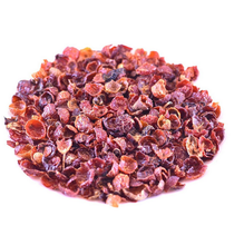 Rose hips have been used as a source of Vitamin C and in fact, have up to 60 times the Vitamin C of citrus fruit as well as containing the bioflavonoids that aid in the absorption of Vitamin C. Used to fight infection & curb stress. It is the herb that is the highest in Vitamin C content and contains the entire C-Complex.