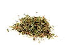 An herbal tea blend that benefits a holistic approach to aid in the treatment of anemia.