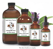 his tincture was formulated to support, soothe and enrich the nervous system. This herbal blend contains adaptogens to help the body adapt to stress and change; herbs rich in calcium and magnesium to build and soothe the nervous system; and antioxidants to mitigate the effects of the free radicals we absorb from the environment and in our diets. Nervous & Restless Herbal Tincture is helpful for anyone who feels stress in everyday living, for those who lead a fast-paced life, or for those with environmental sensitivities.