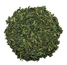 Dandelion Leaf - main use of the leaf has been as a diuretic for fluid build-up and edema. An aid in high blood pressure where a mild diuretic is called for. The leaf is high in potassium, which most diuretics leach from the body. High in nutrition to build the blood.