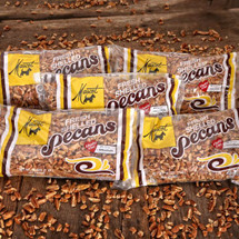 Medium Pecan Pieces - (5) 16 oz. Bags