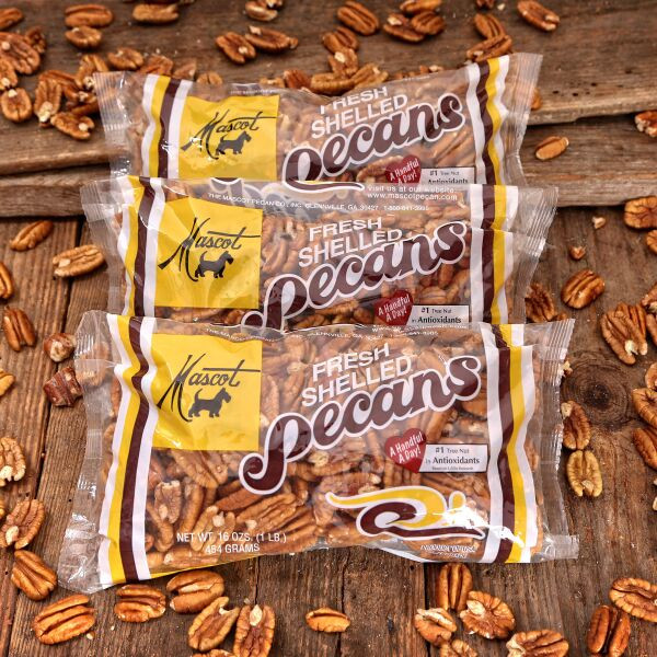 3 16oz bags of mammoth pecan halves