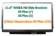 """Boehydis Nt116whm-n10 Replacement LAPTOP LCD Screen 11.6"""" WXGA HD LED DIODE (Substitute Only. Not a ) (40 PIN)"""