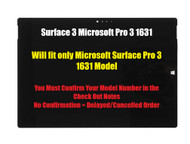 For Microsoft Surface Pro 3 1631 V1.1 LTL120QL01-001 LCD Touch Screen Assembly