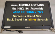 For Asus New 14'' LCD Display Screen Complete Assembly HW14WX101 U46 U46E