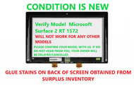 """10.6"""" Touch Panel Front Glass Digitizer & LCD LED Display Screen Replacement Assembly for Microsoft 1572"""