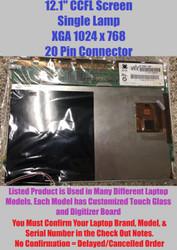 "Acer 56.tadv7.001 Replacement LAPTOP LCD Screen 12.1"" XGA CCFL SINGLE"