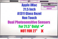 21.5 inch For Apple iMac A1311 Late 2009 Mid 2010 LCD Glass Front Screen Panel