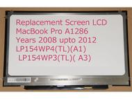 "Apple 646-0657 Replacement LAPTOP LCD Screen 15.4"" WXGA+ LED DIODE"