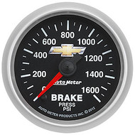 Auto Meter 880450 GM Series Electric Brake Pressure Gauge