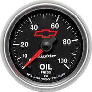 "2-1/16"" Oil Pressure, 0-100 PSI, Full Sweep Electrical"