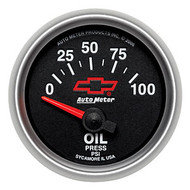 "2-1/16"" Oil Pressure, 0-100 PSI, Short Sweep Electrical"
