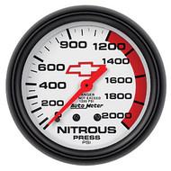 "2-5/8"" Nitrous, 0-2000 psi, Mechanical"