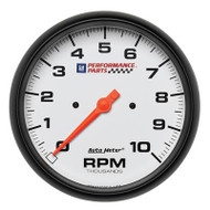 "5"" Tachometer, 10,000 rpm In-Dash"