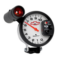 "5"" Tachometer, 10,000 rpm with Memory, Standard Ignition"