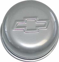 "Air Breather Cap - Push-In, 3"" Diameter - Metallic gray"