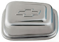 Air Breather Cap - Push-In, Rectangular – Chrome