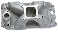 Intake Manifold, ZZ572/620 Engine (square bore) (Holley Carburetors)