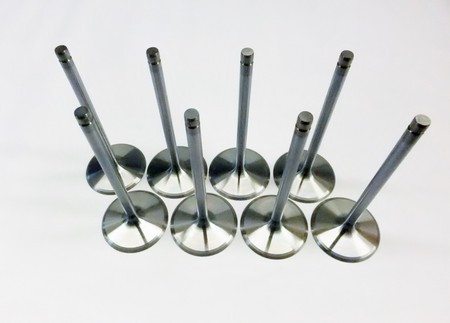 "2.020/"" EV8 Stainless Intake Valves Set for 1997 Chevrolet Gen III IV LS"