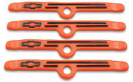 Valve Cover Hold-Down Clamps – Chevy Orange