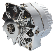 Chrome Alternator; New; 1-Wire; 80 Amp