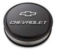 Air Cleaner, Low Profile Bowtie Chevrolet Design