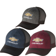 CHEVROLET GOLD BOWTIE DIRTYWASH CAP