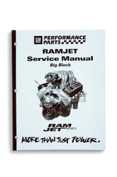 MANUAL, SERVICE, BIG BLOCK RAMJET