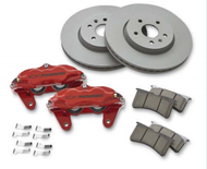 Chevrolet Performance Brake Package w/ Front Calipers - Brake Rotor 300mm (2)