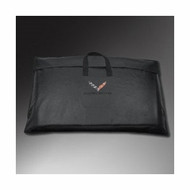 Storage Bags - Removable Roof Panel Storage Bag - Crossed-Flag Logo,Black