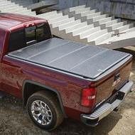 "Tonneau Cover - Hard Folding - 6'6"" Standard Box, High Gloss Vinyl, Black"
