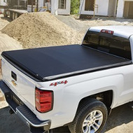 "Tonneau Cover -Hard Folding - 5'8"" Short Box, High Gloss Vinyl, Black"