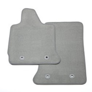 Floor Mats - Front Carpet Replacements - Designed to provide the perfect fit, these Front  Carpet Replacement Floor Mats help protect the  floor of your Corvette from dirt, mud, snow and  other debris, and are available in Gray.